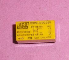 Relais SDS DS2E-S  DC 24 Volt   2x UM