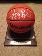 Larry Bird Signed AUTOGRAPH Official Game Ball w/COA