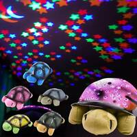 LED Light Projector Baby Night Lamp Star Sky Moon Kids Bedroom Gift