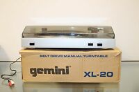 Turntable Gemini XL20 Direct drive Manual Turntable Record player