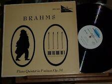 BRAHMS Piano Quintet DEMUS & VIENNA KONZERTHAUS QUARTET - WESTMINSTER XWN 18443
