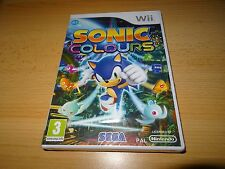 Sonic Colours Nintendo Wii Brand New Sealed