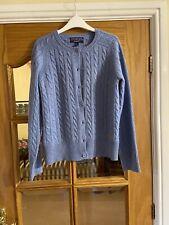 Gant Blue Ladies Cardigan Size L