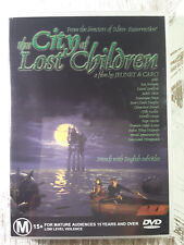 THE CITY OF LOST CHILDREN DVD - Rare R4 - RON PERLMAN JEUNET CARO FRENCH 1995