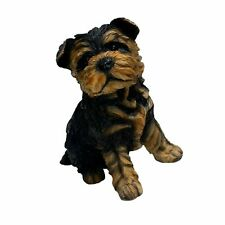 Michael Carr Designs 80091 Sergeant York Yorkshire Terrier Puppy Statue, Small