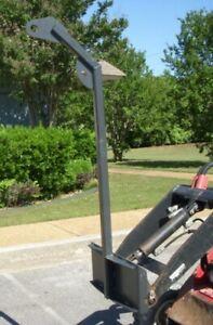 Tree Boom Pole Jib Hoist Nursery Attachment Fits Toro Dingo Mini Skid Steer