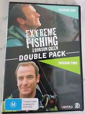 Extreme Fishing with Robson Green Double Pack - Season 1&2 (DVD x 3, 2009) Reg 4
