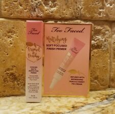 TOO FACED~Primed & Peachy~Cooling Matte Perfecting Primer (0.16oz) *BRAND NEW*