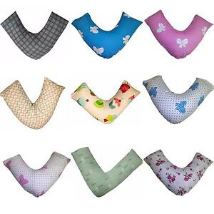 NEW Designer Printed V Pillowcases Orthopedic Cover Pregnancy Support HUGE RANGE
