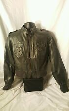 Tuscan Denim brand Jacket - Motorcycle Style women's Size L