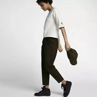 NikeLab Essential Woven Womens Pants Size Large 889882-347 Cargo Green
