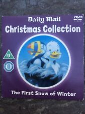 THE FIRST SNOW OF WINTER DVD Promo Daily Mail CHRISTMAS COLLECTION