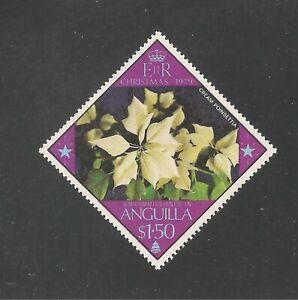 Anguilla #369 (A49) VF MNH - 1979 $1.50 Cream Poinsettia Flower