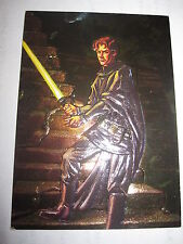 STAR WARS FINEST EMBOSSED FOIL CHASE CARD MINT/NEAR MINT 1996 F6 JACEN SOLO