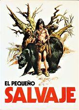 EL PEQUEÑO SALVAJE de José Ortiz. Amaika, 1975.
