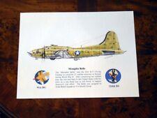 "B-17 ""Memphis Belle"" Giclee & Iris Prints by artist Willie Jones Jr."