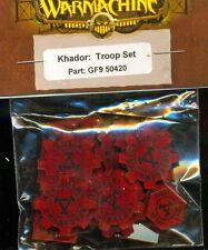 PRIVATEER PRESS WARMACHINE GF950420 TROOP TOKEN- KHADOR