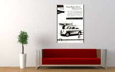 """1958 WOLSELEY 1500 BMC AD PRINT WALL POSTER PICTURE 33.1""""x23.4"""""""