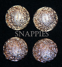 Snappies silver VINE magnetic number pins HUNT WESTERN DRESSAGE EQUITATION SHOW