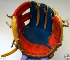 "Franklin Cool Colorful Blue Red & Yellow 9"" Right Handed Youth Baseball Glove"
