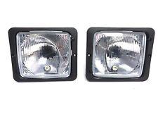 2x Scheinwerfer Traktorlampe H4 172x142x80 Fendt Mercedes Zetor Atlas Case IHC