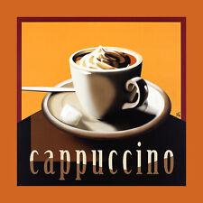Herbert agarra cappuccino póster son impresiones artísticas imagen 60x60cm