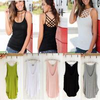 Fashion Women Sexy Summer O-Neck Sleeveless Loose Tank Top Blouse T-Shirt Vest