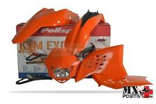 KIT PLASTICHE COMPLETO ENDURO KTM 400 EXC 2008-2011 POLISPORT P90183  COLORE OEM