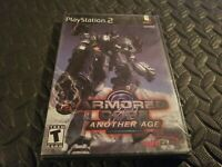 Armored Core 2: Another Age PS2 PlayStation 2 Game Brand New Sealed * promo Rare
