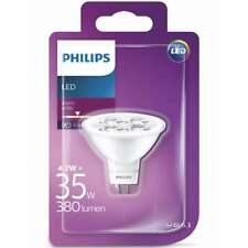Philips GU5.3 12V LED MR16 Bulb 4.7W eq 35 Watt Warm White 380lm 2700K  15,000h