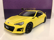 Subaru BRZ GT Yellow Kyosho KSR18027Y 1:18 Scale Samurai Collection