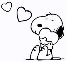 "Snoopy #11 Decal Cartoon Vinyl Sticker Macbook Laptop Car Window 4"" BLACK"