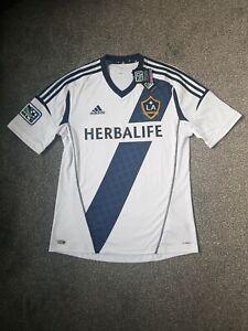 La Galaxy MLS 2012-13 Home football Shirt Size Mens Medium (BNWT)