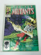 The New Mutants Comic Book #52,  Marvel Comics 1987 NEAR MINT