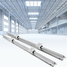 Vevor 2pcs Sbr20 Slide Guide Rod 650 2200mm Linear Rail 4pcs Sbr20uu Bearing
