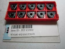 JXTC (JT3115) WNMG080408-GM Cemented Carbide Threading Inserts - Pack of 10