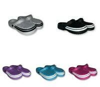 WOMEN'S LADIES SLIP ON RUBBER FUN FASHION STYLISH  OUTDOOR CLOGS SANDALS Sz 7-11