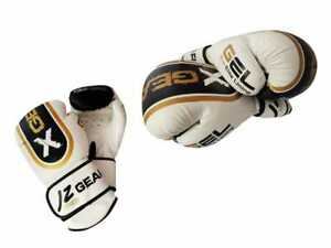 Boxing Gloves MMA Training Sparring Punching Bag KickBoxing Muay Thai 12oz