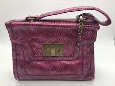 Simply Vera Vera Wang Metallic Pink Handbag/Satchel - Great Condition