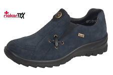 Rieker Women's Slip-ons Low Shoes SNEAKERS Trainers Tex-leder Blue US 6