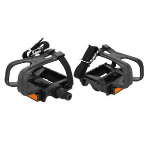 Equipped With Toe Clips And Straps Bike Pedal Mountain Bike Pedals For Outdoor
