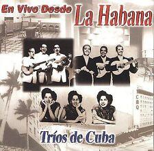 Various Artists : En Vivo Desde La Habana: Trios De Cuba CD