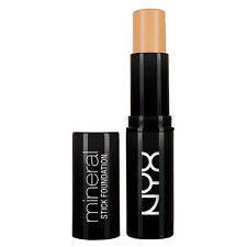 NYX Mineral Stick Foundation MSF08 Warm Tan 0.2 oz New with Factory Sealed