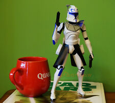 "Star Wars Display Diorama 10"" Figure Model ARC Clone Trooper Captian Rex K1077"