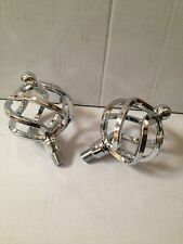 """Lowrider Birdcage Pedals 1/2"""" Spindle- Chrome"""