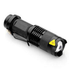 Lampe de Poche Tactique À LED CREE Q5 300 Lumens 7 watts Etanche