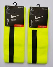 Womens Nike Elite High Intensity Knee High Training Socks Medium 2 PACK!!! *NEW*