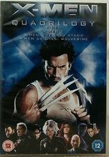 X-Men Quadrilogy (DVD, 2009, 4-Disc Set) STARRING HUGH JACKMAN