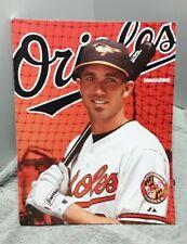 Baltimore Orioles 2011 Magazine Scorebook vs Detroit Tigers August 2011 Hardy