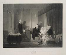 Francis ENGLEHEART (1775), N. D. WILKIE (1785), Die einzige Tochter, 1838, Kst.